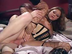 Sexy monica ass fucked in latex boots