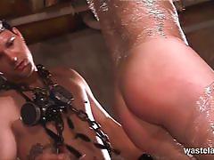 big tits, blonde, busty, bdsm, bondage, toys, slave, vibrator, big boobs, huge tits, fetish, spanking, torture, humiliation, dungeon, painful