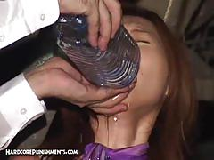 Torturing horny asian bitch