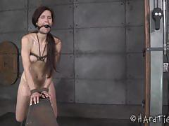 Hot cougar elisa graves punished hard by emma