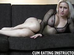 You shall eat your spunk after you cum