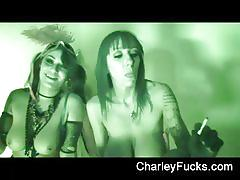 Charley chase and her girlfriend wanna misbehave