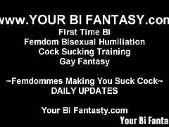 Femdoms can make your bisexual fantasy a reality