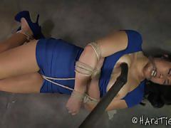 Mia li kinky bondage encounter