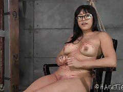 Mia li kinky bondage encounter