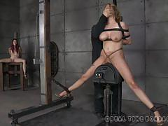 Master punishing her slaves with extreme bdsm