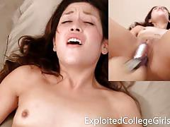 Kinky college girl mariah wants a big cock and cum