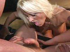 Slutty blonde is ready for some hot anal sex