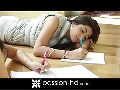 Passion hd: studious sluts with natalie and ava.