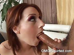 Sexy redhead christina lee gets banged very hard