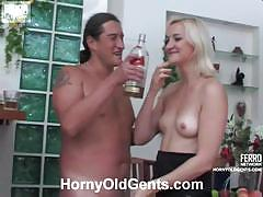 Daddy's fuck session with young cunt