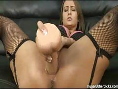 Trina michaels toys her butthole