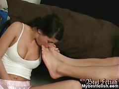 babe, footjob, beauty, amateur, femdom, reality, foot fetish