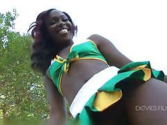 Chocolate cheerleader camp trailer devilsfilm