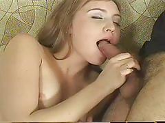 Hot blonde charlies gets fucked by beard man