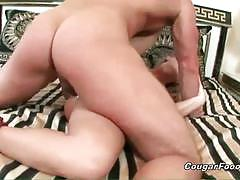 Nasty blonde slut gets her cunt banged hard