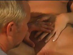 Lusty blonde bombshell milking huge boner in ass