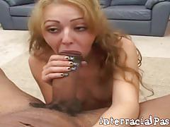 Myah monroe gets banged by a black stud