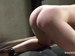 Slave whipped all over and burned with hot wax