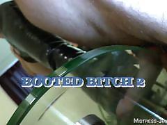 Mistress jennifer tortures her slave's genitals