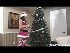 Naughty christmas with the busty tiffany preston