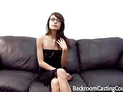 ass, facial, anal, glasses, cum, office, casting, skinny, assfuck, first time, pov, audition