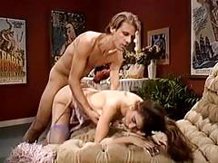 Extremely hot vintage porn video