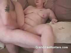 Chubby blonde mature homemade fuck