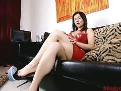 brunette, mistress, black hair, femdom, foot fetish