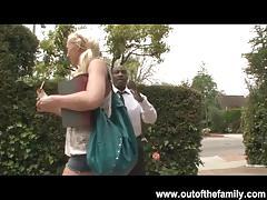 Slutty teen molly rae seduces her step dad
