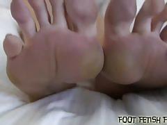 Princess anna's foot fetish treat