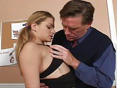 Student get punished and fucked by her teacher