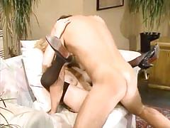 Blonde babe from 1980's gets fucked