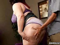 Dude plays with bbw matalla's mega boobs