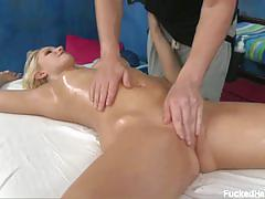 Pussy massage for vanessa cage
