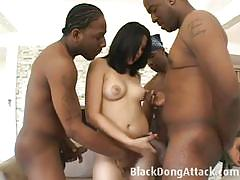 celina cross, big dick, hardcore, big tits, busty, interracial, doggy style, threesome, cowgirl, mmf, big cock, missionary