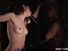 Ginger hell plays with slave valeri bianco