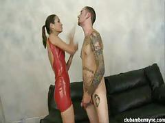 Amber rayne tortures tattooed stud johnny