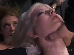 cherry torn, big tits, blonde, bdsm, bondage, slave, big boobs, torture, humiliation, fake tits, dungeon