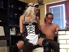 Horny alternative maid in a hardcore fuck