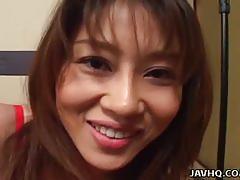 Eating remi matsukawa's wet pussy slit