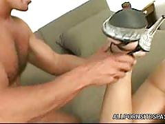 Susie diamond awesome footjob and anal sex