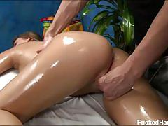 Hot abby cross massage fuck