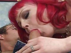 Red head slut wants big dick fucking
