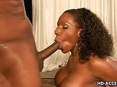 Curvy ebony belle kelly starr gets banged hard