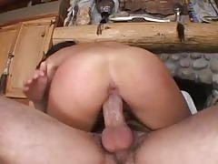 Monster boner drilling mystical brunette hustler