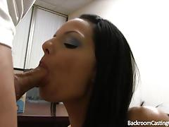 Brunette babe lana from backroom casting couch