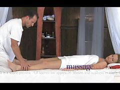 Sensual and sexual massage with oil and hard dick.