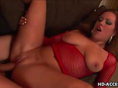 Hot brunette kaylee love cox gets banged hard