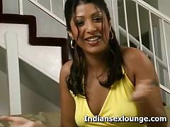 Irresistable desi babe backstage interview